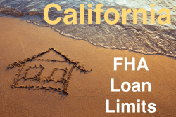 California FHA Loan Limits