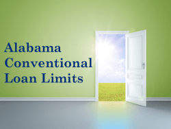 Alabama Conventional Loan Limits
