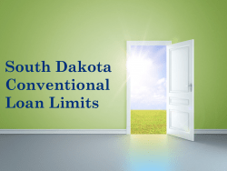 South Dakota Conventional Loans