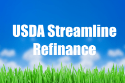 USDA Streamline Refinance