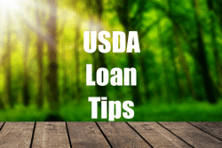 USDA Loan Tips