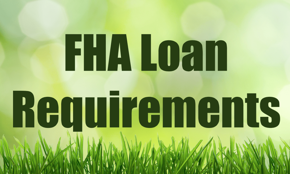 Fha Jumbo Loan Requirements