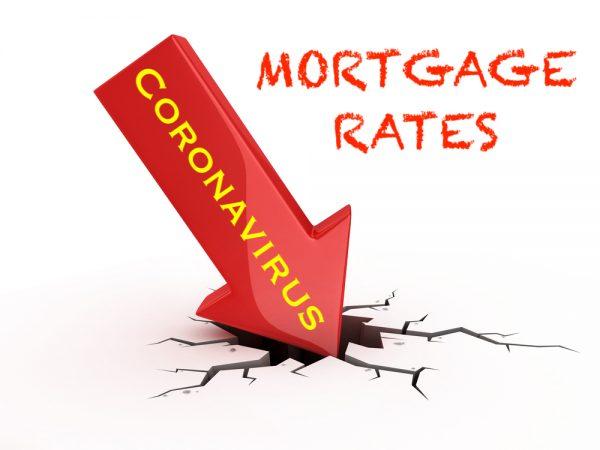 Mortgage Rates Below 3 Percent from Coronavirus